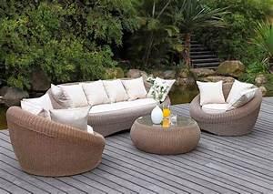 Salon De Jardin Osier : le salon de jardin s 39 impose nous ~ Dallasstarsshop.com Idées de Décoration