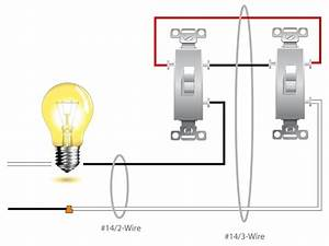 1 Switch 2 Lights Wiring Diagram