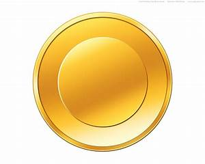 PSD gold coin icon | PSDGraphics