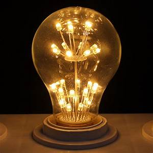Glühlampe Als Lampe : nostalgie dimmbar e27 e14 edison retro led lampe gl hbirne filament leuchtmittel ebay ~ Markanthonyermac.com Haus und Dekorationen