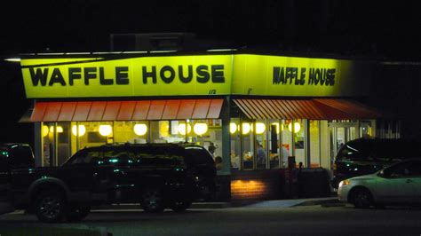 waffle house on american way a destroyed a waffle house because they raised their