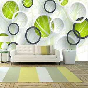 Abstract Photo Murals 3D Wallpaper Vinyl Wall Paper TV ...