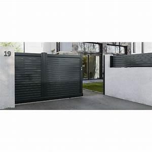 Portail De Maison : 17 meilleures id es propos de portail coulissant sur ~ Premium-room.com Idées de Décoration