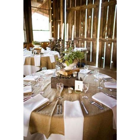 find natural burlap tablecloth   wholesale price