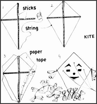 printable kite design template sampletemplatess