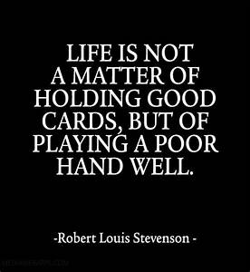 Life is not a m... Matter Of Life Quotes