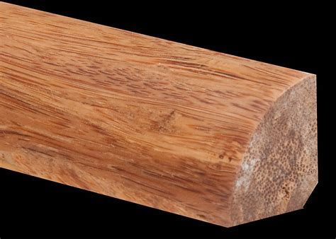 Prefinished Strand Carbonized Bamboo Quarter Round