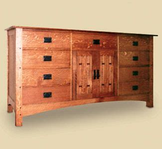 woodworking plans  mission style buffet