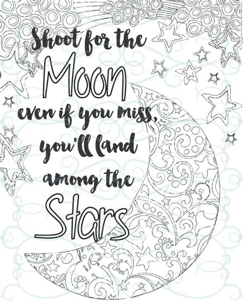 adult inspirational coloring page printable  shoot