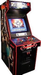 Mortal Kombat Arcade Machine by Mortal Kombat Ii Videogame By Midway
