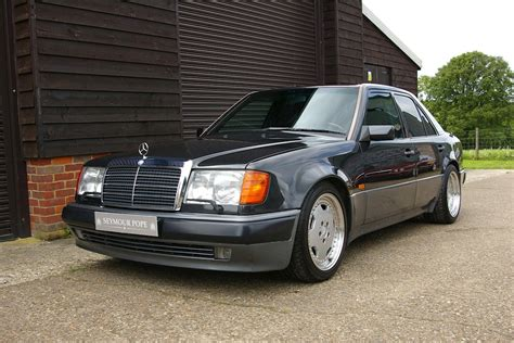 used mercedes w124 500e automatic saloon seymour pope