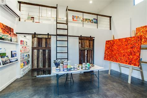 Painters Studio Turned Modern Loft by Studio Apartment Room Home Office Modern With Manufactured