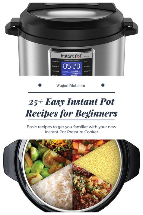 instant pot recipes beginners easy side dishes wagonpilot