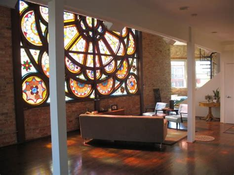 Gorgeous 1880s House by Stunning 1880s Renovated Church Loft In Chicago That