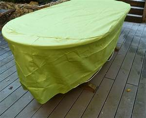 Housse Table De Jardin : house de protection pour table ovale ~ Teatrodelosmanantiales.com Idées de Décoration