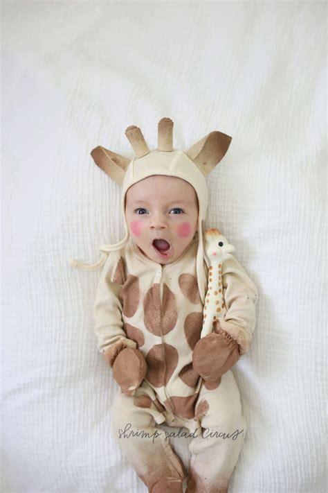 diy sophie  giraffe baby halloween costume shrimp