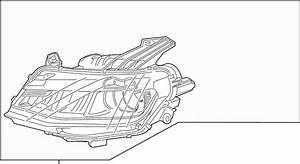 Chevrolet Camaro Headlight Assembly  Camaro  W  O Hid  Left