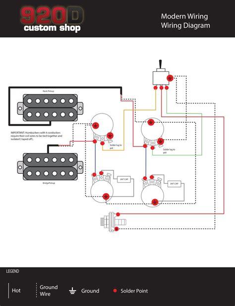 Diagrams Les Paul Modern Wiring Sigler Music