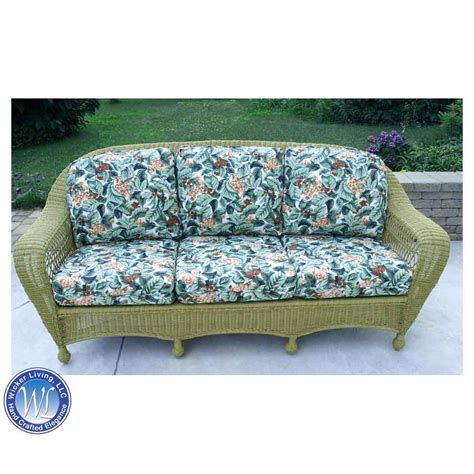 replacement sofa cushions seating wicker