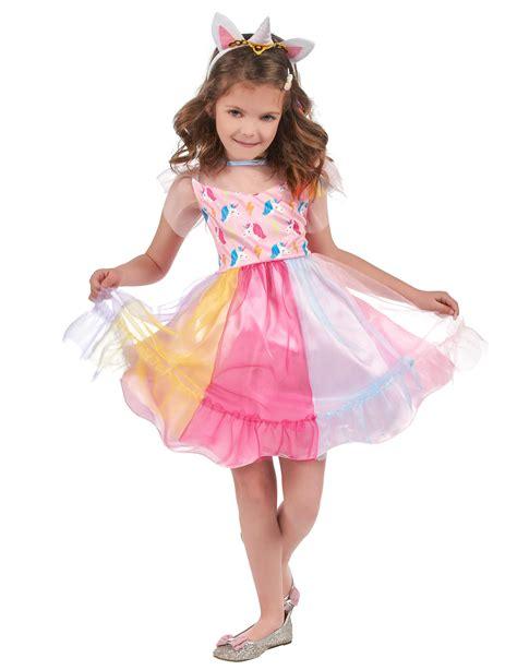 Disfraz unicornio de colores niña: Disfraces niños y