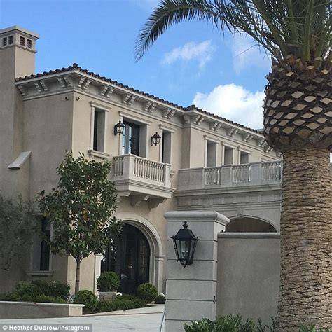 dubrow house dubrow shares glimpse of luxury home daily mail