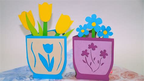 Diy Paper Crafts Ideas Greeting Cards Flowers Greeting