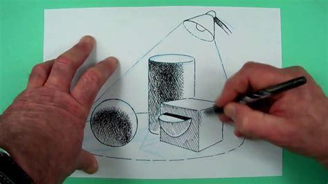 wie zeichnet man licht und schatten zeichnen fuer kinder