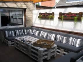 europaletten balkon 60 wohnideen mit europaletten palettenmöbel selber bauen