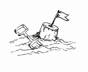 Free Drawing Of A Sandcastle, Download Free Clip Art, Free ...
