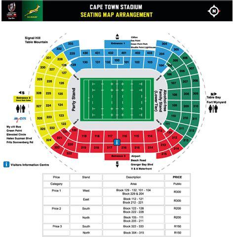 cape town stadium seating plan theyellowcapcom