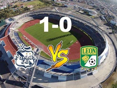 League avg is mexico liga mx's average across 126 matches in the 2020/2021 season. Puebla vs Leon 1-0 Jornada 14 Apertura 2015 - YouTube