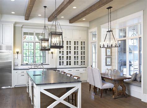 mystic gray granite transitional kitchen benjamin