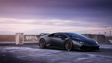 Lamborghini Huracan On Adv1 Wheels Wallpapers In Jpg