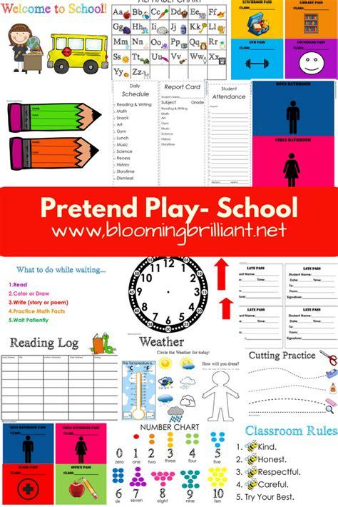 pretend play school blooming brilliant