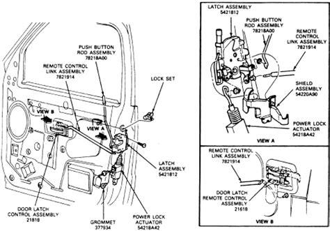 remove  broken lock cylinder   ford transit