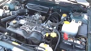1998 Subaru Impreza  Green - Stock  B2599a - Engine