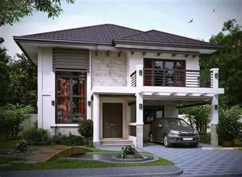 contemporary house designs  rendition trending