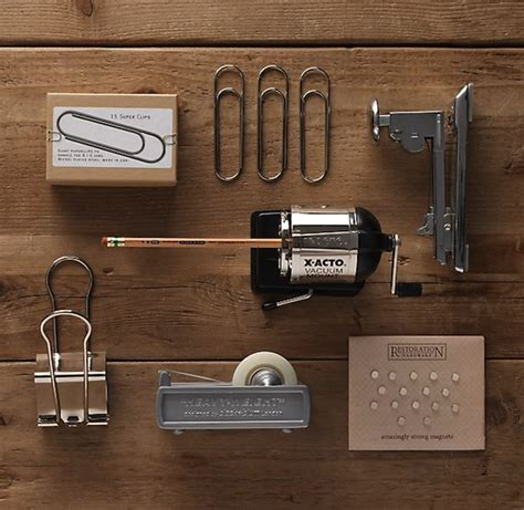 Office Desk Tools by Restoration Hardware S Industrial Desk Accessories Tools