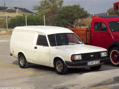 IAM212 1982 Morris Marina Ital Van   Images of Maltese ...