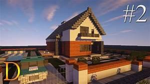 MINECRAFT PORADNIK - Jak zbudować: modern house z basenem ...  Modern