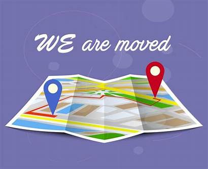 Location Moving Address Navigation Changing Concept Map