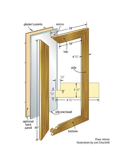 floor mirror woodworking plans woodshop plans