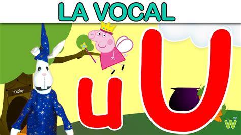 aprendamos sobre la vocal u