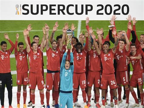 Bayern Munich Win German Super Cup To Lift Fifth Title In ...