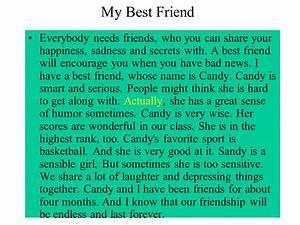 my best friend essay for class 2