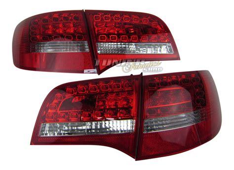 audi a6 4f rückleuchten original led r 252 ckleuchten vom facelift 2009 passend f 252 r audi a6 s6 4f c6 avant ebay