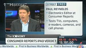 iPad 3 Hot! Wait, It's Only Warmer: Consumer Reports CNBC ...
