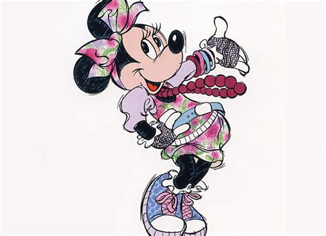 tropical themed minnie mouse character gallery d23