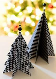 Christmas, Craft, Idea, Paper, Trees