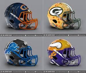 All 32 NFL Teams Helmet Concept